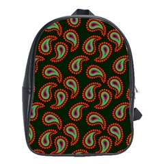 Pattern Abstract Paisley Swirls School Bags (xl)  by Onesevenart