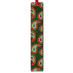 Pattern Abstract Paisley Swirls Large Book Marks by Onesevenart