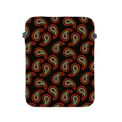 Pattern Abstract Paisley Swirls Apple Ipad 2/3/4 Protective Soft Cases by Onesevenart
