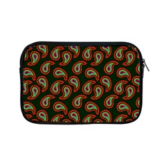 Pattern Abstract Paisley Swirls Apple Ipad Mini Zipper Cases by Onesevenart