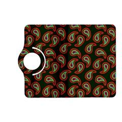 Pattern Abstract Paisley Swirls Kindle Fire Hd (2013) Flip 360 Case by Onesevenart
