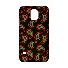 Pattern Abstract Paisley Swirls Samsung Galaxy S5 Hardshell Case  by Onesevenart