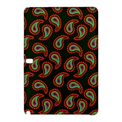 Pattern Abstract Paisley Swirls Samsung Galaxy Tab Pro 10 1 Hardshell Case by Onesevenart