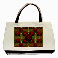 Spanish And Hot Basic Tote Bag by pepitasart