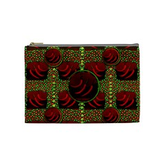 Spanish And Hot Cosmetic Bag (medium)  by pepitasart