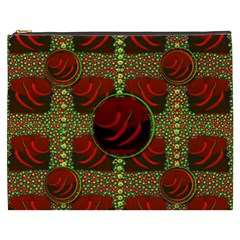 Spanish And Hot Cosmetic Bag (xxxl)  by pepitasart