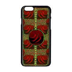 Spanish And Hot Apple Iphone 6/6s Black Enamel Case by pepitasart