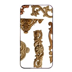 Pattern Motif Decor Apple Iphone 4/4s Seamless Case (black) by Onesevenart
