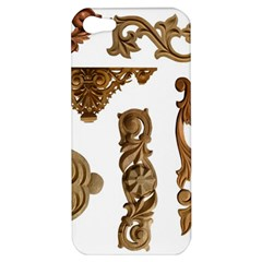 Pattern Motif Decor Apple Iphone 5 Hardshell Case by Onesevenart