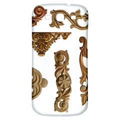 Pattern Motif Decor Samsung Galaxy S3 S Iii Classic Hardshell Back Case by Onesevenart
