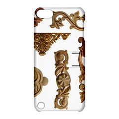 Pattern Motif Decor Apple Ipod Touch 5 Hardshell Case With Stand by Onesevenart