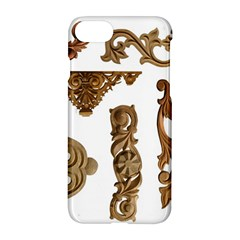 Pattern Motif Decor Apple Iphone 7 Hardshell Case by Onesevenart