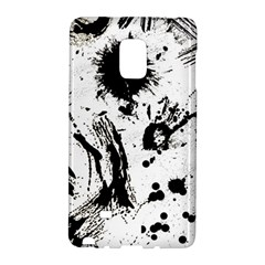 Pattern Color Painting Dab Black Galaxy Note Edge by Onesevenart