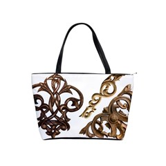 Pattern Motif Decor Shoulder Handbags by Onesevenart