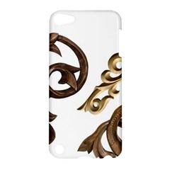 Pattern Motif Decor Apple Ipod Touch 5 Hardshell Case by Onesevenart