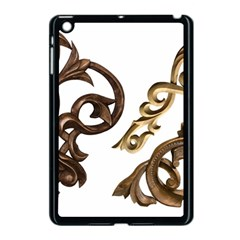 Pattern Motif Decor Apple Ipad Mini Case (black) by Onesevenart