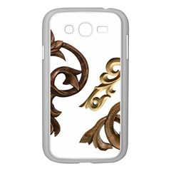 Pattern Motif Decor Samsung Galaxy Grand Duos I9082 Case (white) by Onesevenart