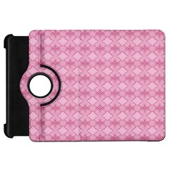 Pattern Pink Grid Pattern Kindle Fire Hd 7  by Onesevenart