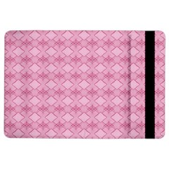 Pattern Pink Grid Pattern Ipad Air 2 Flip by Onesevenart