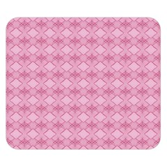 Pattern Pink Grid Pattern Double Sided Flano Blanket (small)  by Onesevenart