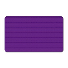 Pattern Violet Purple Background Magnet (rectangular) by Onesevenart
