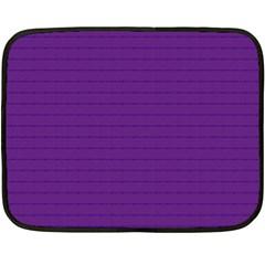 Pattern Violet Purple Background Double Sided Fleece Blanket (mini)  by Onesevenart