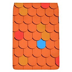 Roof Brick Colorful Red Roofing Flap Covers (s)  by Onesevenart