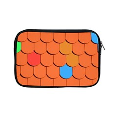 Roof Brick Colorful Red Roofing Apple Ipad Mini Zipper Cases by Onesevenart