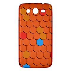Roof Brick Colorful Red Roofing Samsung Galaxy Mega 5 8 I9152 Hardshell Case  by Onesevenart