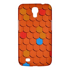 Roof Brick Colorful Red Roofing Samsung Galaxy Mega 6 3  I9200 Hardshell Case by Onesevenart