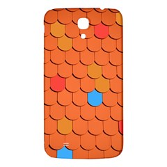 Roof Brick Colorful Red Roofing Samsung Galaxy Mega I9200 Hardshell Back Case by Onesevenart