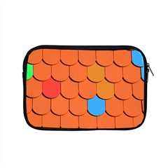 Roof Brick Colorful Red Roofing Apple Macbook Pro 15  Zipper Case by Onesevenart