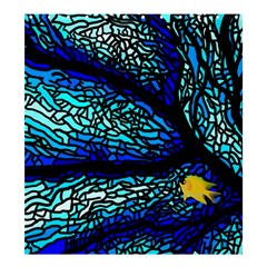 Sea Fans Diving Coral Stained Glass Shower Curtain 66  X 72  (large)  by Onesevenart