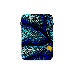 Sea Fans Diving Coral Stained Glass Apple Ipad Mini Protective Soft Cases by Onesevenart