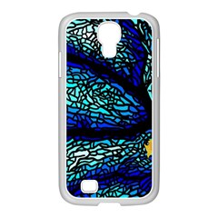 Sea Fans Diving Coral Stained Glass Samsung Galaxy S4 I9500/ I9505 Case (white) by Onesevenart