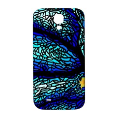 Sea Fans Diving Coral Stained Glass Samsung Galaxy S4 I9500/i9505  Hardshell Back Case by Onesevenart