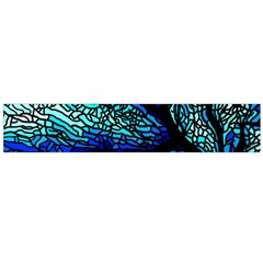 Sea Fans Diving Coral Stained Glass Flano Scarf (large) by Onesevenart