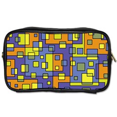 Square Background Background Texture Toiletries Bags by Onesevenart