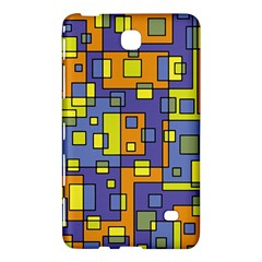 Square Background Background Texture Samsung Galaxy Tab 4 (8 ) Hardshell Case  by Onesevenart