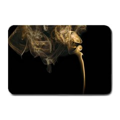 Smoke Fume Smolder Cigarette Air Plate Mats by Onesevenart