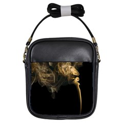 Smoke Fume Smolder Cigarette Air Girls Sling Bags by Onesevenart