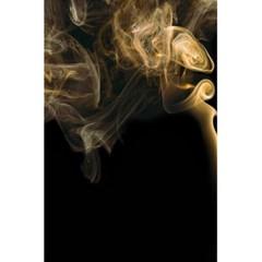 Smoke Fume Smolder Cigarette Air 5 5  X 8 5  Notebooks by Onesevenart