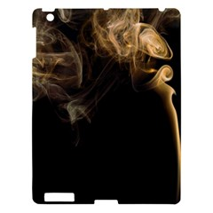 Smoke Fume Smolder Cigarette Air Apple Ipad 3/4 Hardshell Case by Onesevenart