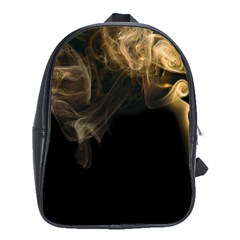 Smoke Fume Smolder Cigarette Air School Bags (xl)  by Onesevenart