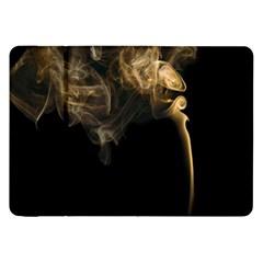 Smoke Fume Smolder Cigarette Air Samsung Galaxy Tab 8 9  P7300 Flip Case by Onesevenart