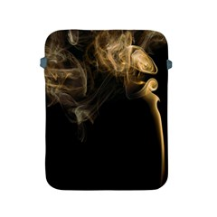 Smoke Fume Smolder Cigarette Air Apple Ipad 2/3/4 Protective Soft Cases by Onesevenart