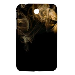 Smoke Fume Smolder Cigarette Air Samsung Galaxy Tab 3 (7 ) P3200 Hardshell Case  by Onesevenart