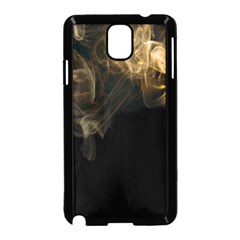 Smoke Fume Smolder Cigarette Air Samsung Galaxy Note 3 Neo Hardshell Case (black) by Onesevenart