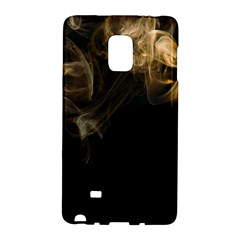 Smoke Fume Smolder Cigarette Air Galaxy Note Edge by Onesevenart