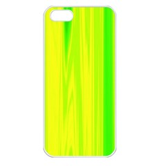 Shading Pattern Symphony Apple Iphone 5 Seamless Case (white) by Onesevenart